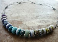 Ombre Necklace #jewelry