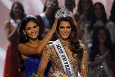 Miss France Iris Mittenaere is the 65th Miss Universe. Pia Wurtzbach crowned Iris Mittenaere as the winner of Miss Universe 2016 on Monday morning in the Philippines. Credit Reuters