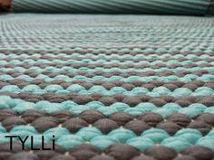 minttua ja harmaata Weaving, Rugs, Home Decor, Farmhouse Rugs, Decoration Home, Room Decor, Carpets, Interior Design, Crocheting