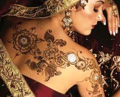 Indian Mehndi Tattoo