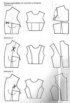 Corte y Confeccion Curso Facil - Hermenegildo Zampar.pdf Sewing Paterns, Dress Sewing Patterns, Doll Clothes Patterns, Sewing Patterns Free, Sewing Clothes, Clothing Patterns, Diy Clothes, Shirt Patterns, Techniques Couture