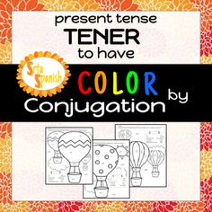 """Spanish color by conjugation! Think color by number, but with verb forms instead!There are three different color by conjugation sheets included to practice the forms of the verb """"tener"""". If you are interested in this type of activity for a different set of verbs or in another tense let me know!How to get TPT credit to use on future purchases: Please go to your My Purchases page (you may need to login)."""