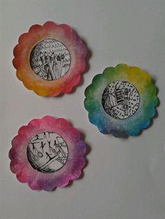Mini-Vera Schilderijtjes. Ik hou van creatief, muziek en sporten (turnen)!!!