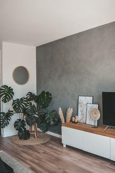 Home Living Room, Apartment Living, Living Room Decor, Room Color Schemes, Room Colors, Home Decor Accessories, Decoration, House Design, Walls