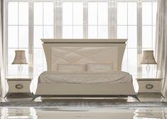 Dormitorio  con cabecero tapizado. Mod. IMPERIAL 12