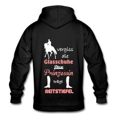 Keyword: & order gifts online Spreadshirt - Forget the glass shoes dressage rider pullovers & hoodies – unisex hoodie - T Shirt Designs, Horse Sweatshirts, Hoodies, Dressage, Glass Shoes, Rider, Things To Buy, Stuff To Buy, Horse Love