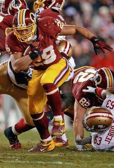 Washington Redskins running back Roy Helu