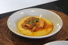 Mel e Pimenta: Polenta mole com frango ensopado