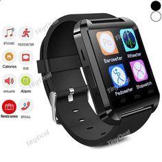 New U Watch U8 Bluetooth 4.0 MTK Smart Wearable Device Watch Bracelet Sport Watch for Android Phone WWT-347491