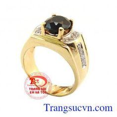 Nhẫn nam sapphire giá rẻ