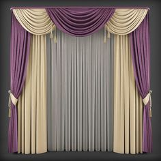 Design Luxury curtains for your home - Homemidi Curtains And Draperies, Luxury Curtains, Elegant Curtains, Home Curtains, Beautiful Curtains, Modern Curtains, Swag Curtains, Window Drapes, Valances