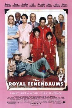 The Royal Tenenbaums (2001) Gene Hackman, Gwyneth Paltrow, Anjelica Huston