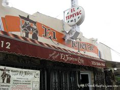Manuel's Original El Tepeyac Cafe / Los Angeles, CA. Went there countless times from the time I was 5. The owner Don Manuel (RIP), never served alcohol, but some tequila would always magically appear whenever we walked in.