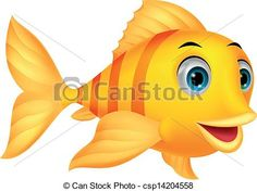 """Buy the royalty-free Stock vector """"Vector illustration of Cute fish cartoon"""" online ✓ All rights included ✓ High resolution vector file for print, web &. Fish Drawings, Cartoon Drawings, Cartoon Fish, Cartoon Butterfly, Underwater Art, Cute Fish, Fish Art, Fish Fish, Cute Images"""