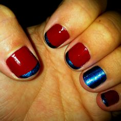 4th of July nails!