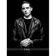 G-Eazy Christoph Andersson Leather Jacket