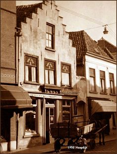 Haagdijk rond 1950  Foto van Gerda Radder Sterkens