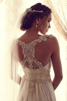 This is the one.  Stunning Wedding Dresses by Anna Campbell 2013