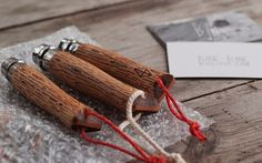 MISCELLANEOUS ADVENTURES x BLANC/BLANC - wood burned opinel knife
