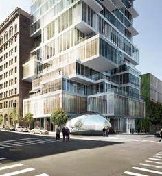 6 Leonard street en el distrito histórico de Tribeca en el downtown de  Nueva York , se ha convertido en el proyecto top de la ciudad, c...