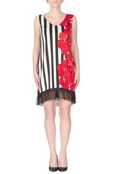Joseph Ribkoff Sales - Get up to OFF of All Past Collections Joseph Ribkoff Dresses, Black White Red, New Look, Color Pop, Feminine, Sale Sale, Elegant, Lace, Shopping