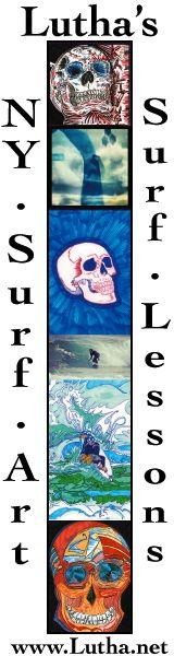 Lüthårt   NY Surf Art   Surf Lessons
