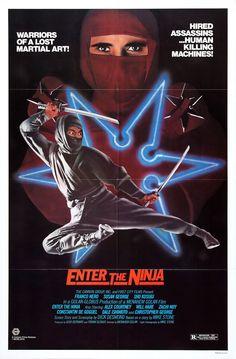 Enter the Ninja (1981) Stars: Franco Nero, Susan George, Shô Kosugi, Christopher George, Alex Courtney ~ Director: Menahem Golan