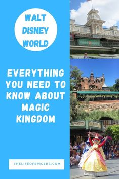 Magic Kingdom park is usually the more popular Disney World park. It's bright and colourful and has so much to see and do. Read on to discover everything you need to know about Disney's Magic Kingdom park before you visit. Disney World Florida, Disney World Parks, Disney World Planning, Walt Disney World Vacations, Disney Trips, Disney Worlds, Disney Travel, Magic Kingdom Tips, Disney World Magic Kingdom