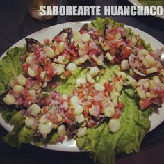 Choritos a la Chalaca:SABOReARTE Restaurant