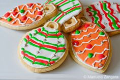 Ornament Decorated Cookie | FROSTED: Decorate Your Tree With Something Sweet...Bake Ornaments That ...