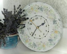 Wall Clock Vintage LARGE WALL CLOCK sweet home Unique Wall