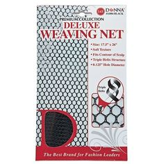 Black Deluxe Weaving Net *** Continue to the product at the image link.(This is an Amazon affiliate link and I receive a commission for the sales)