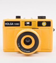 Holga Camera Bright Yellow 35mm available at Wocolate
