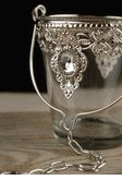 Jeweled Glass Hanging Candle Holder or Vase $4.99 each / 3 for $$3.99