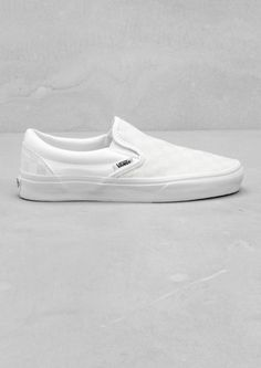 I'm really liking this style of vans and in all white would make the perfect casual trainer