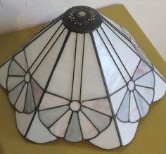 Arts and Crafts Style Stained Glass Lamp Shade by SkippysFunHouse