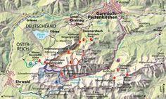 Zugspitze, szlaki na szczyt | http://www.agaoutofoffice.com/szlaki-na-zugspitze/