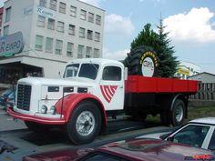 ŠKODA 706 R VALNIK JEDNA Z RENOVOVANYCH Commercial Vehicle, Old Trucks, Vintage Cars, Jeep, Vehicles, Classic, Truck, Derby, Jeeps