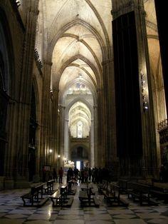 Catedral de Sevilla .