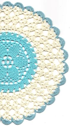 Crochet doily lace doily table decoration crocheted by DoilyWorld