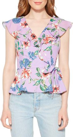 Women's Parker Manny Floral Top, Size X-Large - Pink Fashion 2020, Girl Fashion, Fashion Outfits, Blouse Styles, Blouse Designs, Casual Dresses For Women, Clothes For Women, Frock Design, Floral Tops