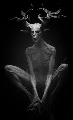 Dont forget your Yogi. Arte Horror, Horror Art, Dark Fantasy, Fantasy Art, Dark Photography, Macabre Photography, Satanic Art, Images Gif, Arte Obscura