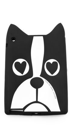 "Marc by Marc Jacobs ""Shorty"" iPad case. Love this lil guy #bostonterrier #woof #iPad"