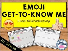This activity is a fun spin-off of the popular social media emojis that most (if…