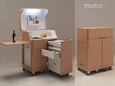 Кухня трансформер японской компании Atelier OPA