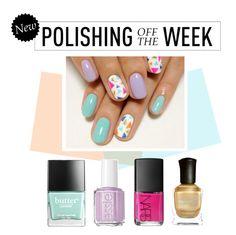 """Polishing Off the Week"" by polyvore-editorial ❤ liked on Polyvore featuring beauty, Butter London, NARS Cosmetics, Essie, Deborah Lippmann, nailpolish, polishingofftheweek and newnownails"
