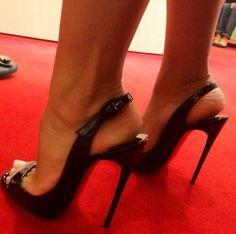 #Shoes #blackstilettoheels #platformhighheelsstilettos #hothighheelsstockings