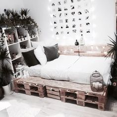 bedroom, room, and decor