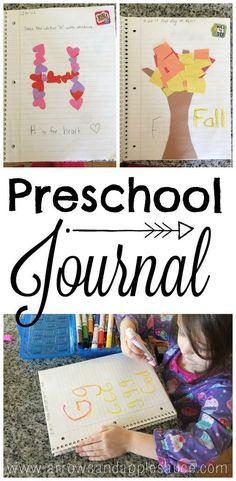 Our Homeschool Day: Preschool Journal