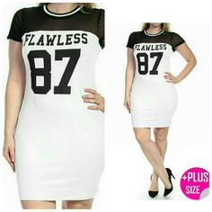 Super Sale!!Plus-Flawless Dress